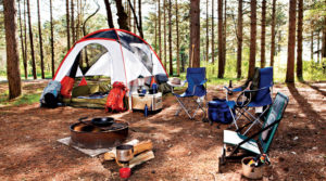 Used outdoor gear, camping equipment at Dunn Deal in Durango